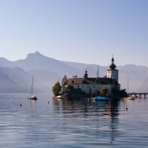 Günstige und teure Gemeinden in Österreich: Schloss am Traunsee