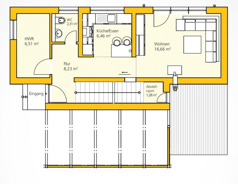 Kompakthaus 83  /  / 3382 / Bild 1