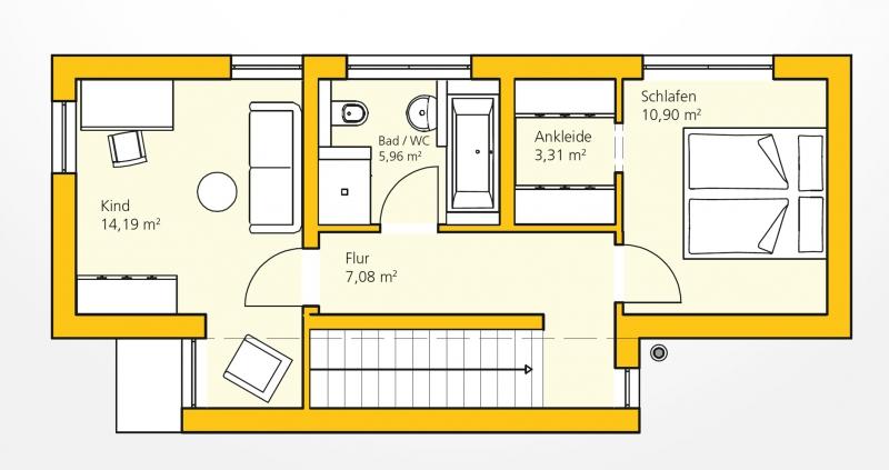 Kompakthaus 83  /  / 3382 / Bild 2