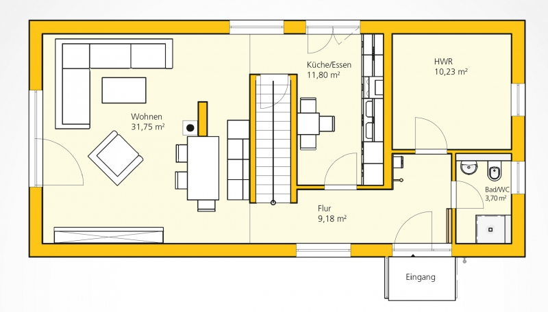 Kompakthaus 122 /  / 3382 / Bild 1