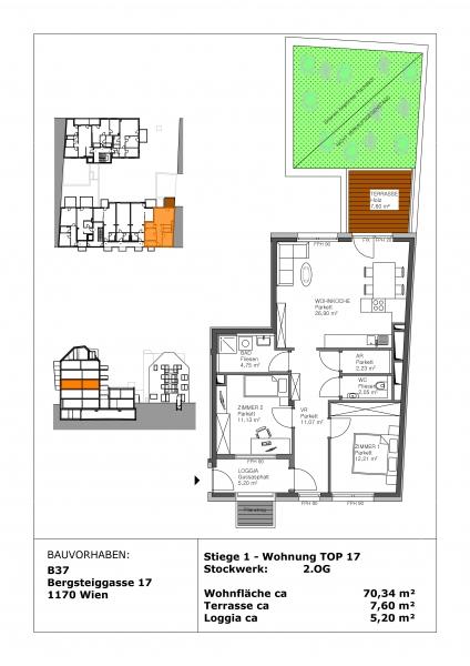gbild -- PROVISIONSFREI! - Tolles Neubauprojekt zur Anlage und Vorsorge! /  / 1170Wien / Bild 3