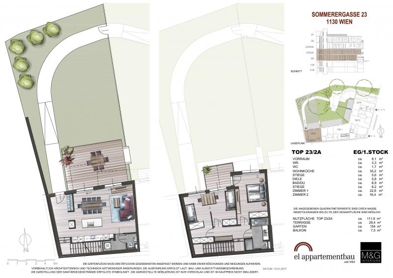 3 Zimmer Maisonette mit Garten in perfekter Lage!