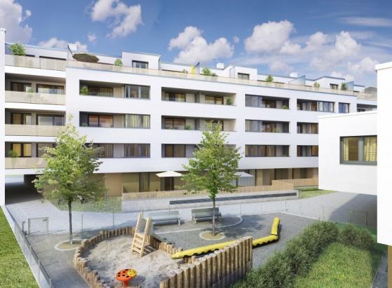 Traumhafte Eigentumswohnung mit 57 m2 Terrasse