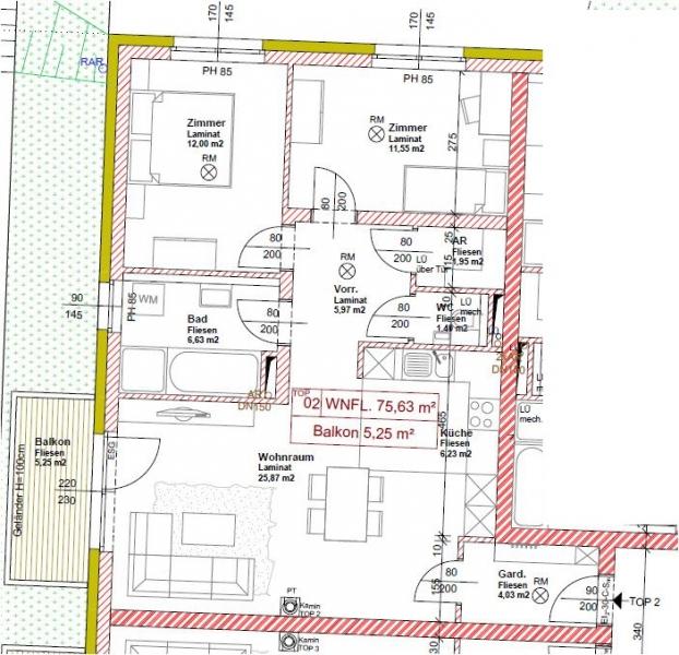 Eigentumswohnung im Niedrigenergiehaus, Fertigstellung in Kürze /  / 2410Hainburg an der Donau / Bild 2