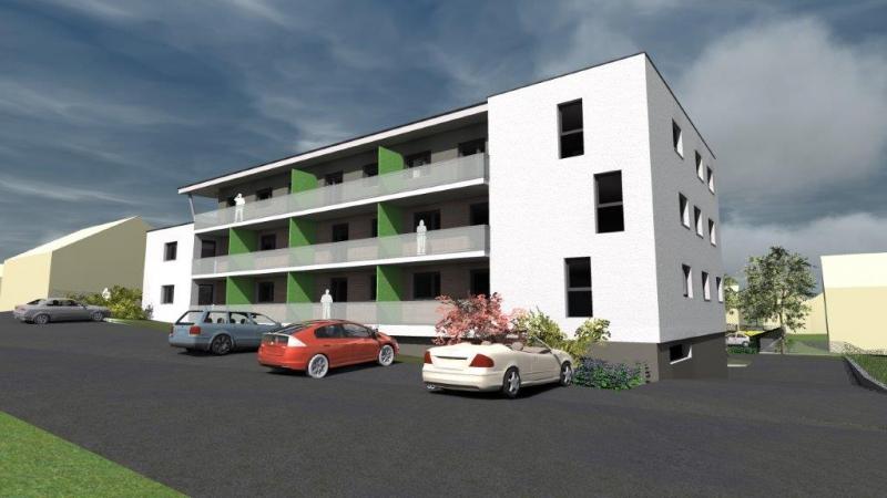 Zweizimmer- Wohnungsneubau mit Südwest- Loggia /  / 2410Hainburg an der Donau / Bild 0