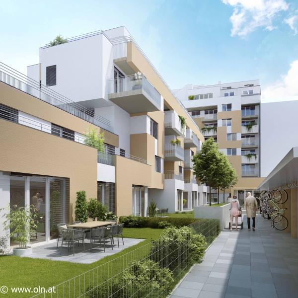 Familienwohnung mit großem Garten - 2.1.