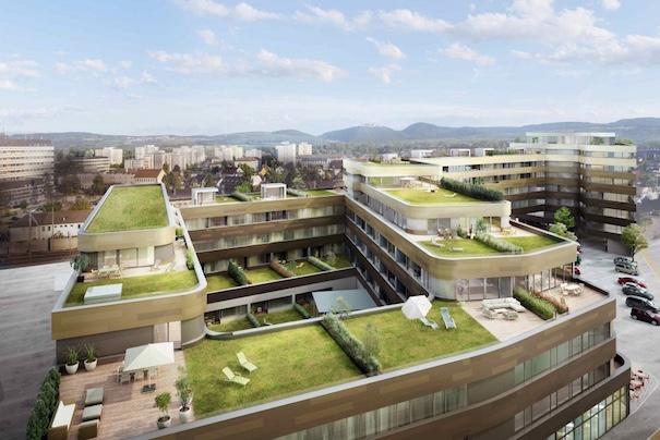 Provisionsfreie 4 Zimmerwohnung mit Dachterrasse