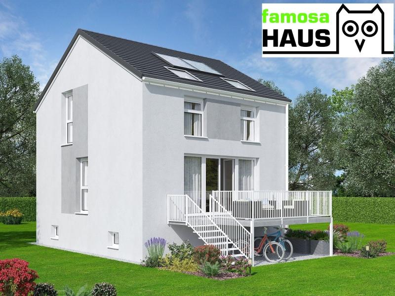 Ziegelmassives Einzelhaus, vollunterkellert mit Eigengrund. TÜV-Austria baubegleitet!