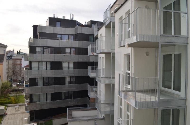 TURNERGASSE, Westbahnhof-Nähe, 65 m2 Neubau mit 6 m2 Balkon, 2 Zimmer, Komplettküche, Wannenbad, Hofruhelage;