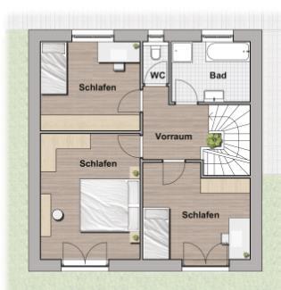 Einfamilienhaus in Ziegelmassivbauweise - U2 - Grünruhelage /  / 1220Wien / Bild 3