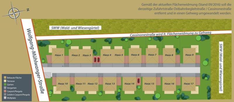 Exklusive Doppelhaushälfte direkt an der U2 - Massivbauweise - Wohnbauförderung - Provisionsfrei /  / 1220Wien / Bild 1