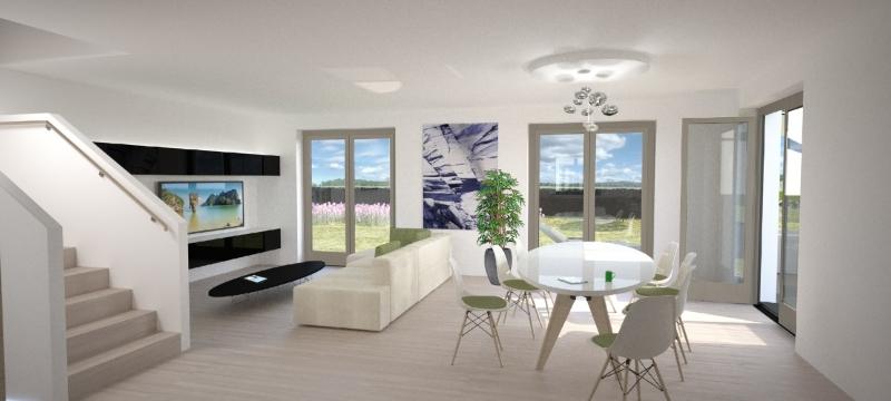 Exklusive Doppelhaushälfte direkt an der U2 - Massivbauweise - Wohnbauförderung - Provisionsfrei /  / 1220Wien / Bild 2