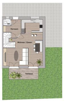 Exklusive Doppelhaushälfte direkt an der U2 - Massivbauweise - Wohnbauförderung - Provisionsfrei /  / 1220Wien / Bild 3