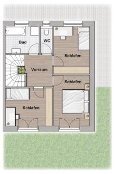 Exklusive Doppelhaushälfte direkt an der U2 - Massivbauweise - Wohnbauförderung - Provisionsfrei /  / 1220Wien / Bild 4