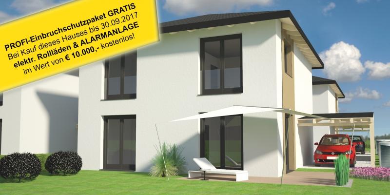 Attraktives Einfamilienhaus in Massivbauweise in bester Lage - Carport - Wohnbauförderung