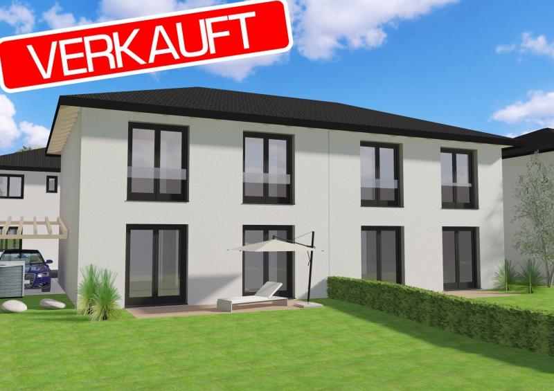 Letzte verfügbare Doppelhaushälfte direkt an der U2 - Massivbauweise - Wohnbauförderung - Provisionsfrei