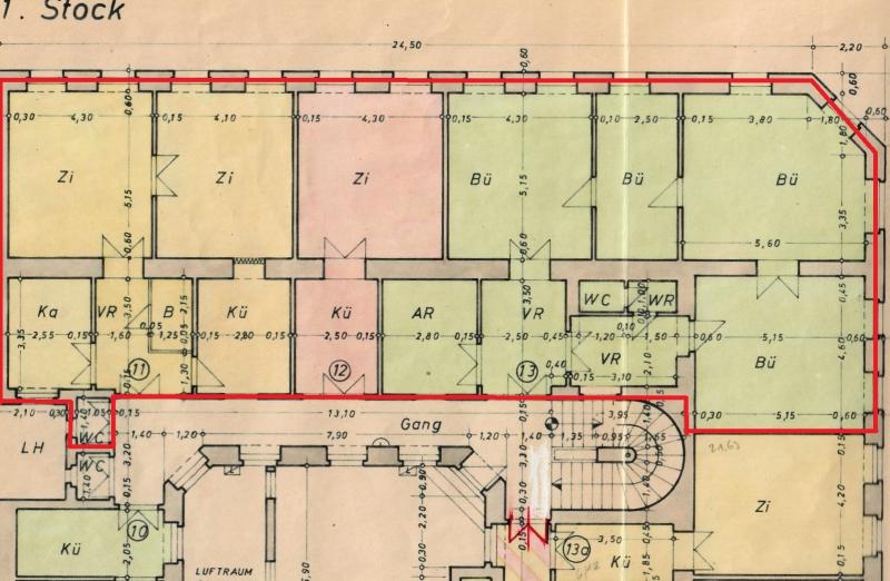 216m² sanierungsbedürftig (Wohnung & Büro)