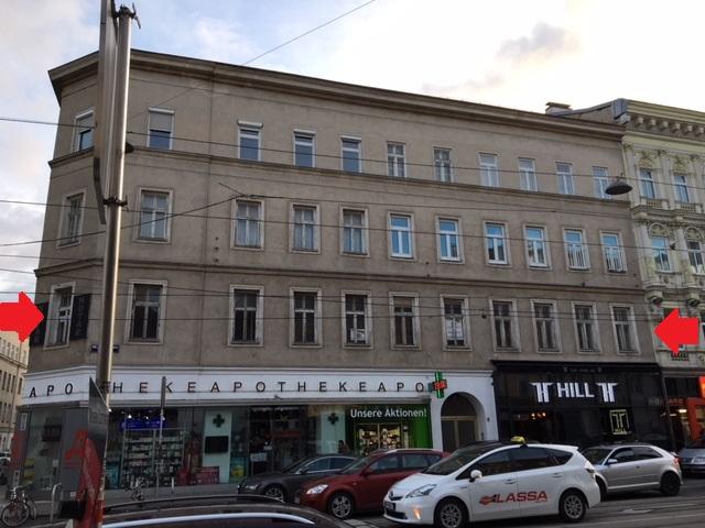 216m² sanierungsbedürftig (Wohnung & Büro) /  / 1160Wien / Bild 1