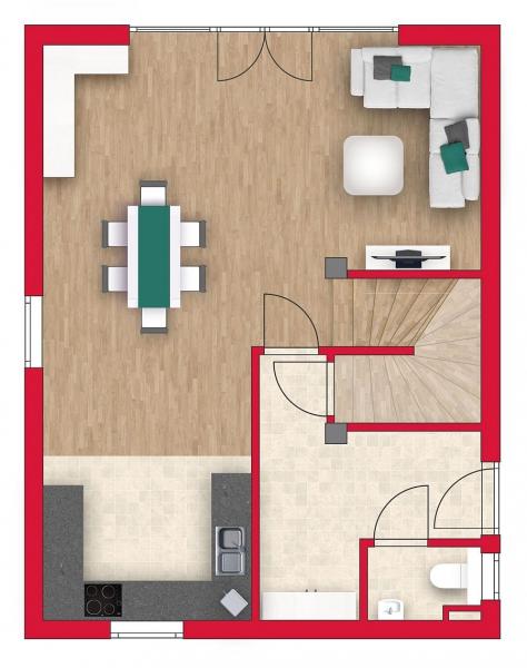 Niedrigenergie - Einzelhaus, vollunterkellert mit Sonnengarten (Eigengrund). Alleineigentum! /  / 2100Leobendorf / Bild 3