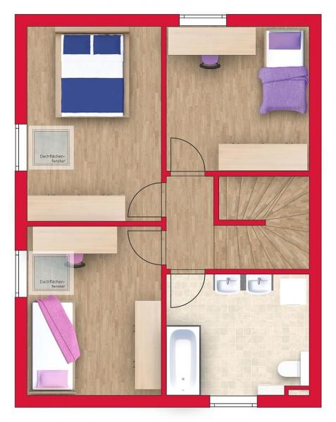 Niedrigenergie - Einzelhaus, vollunterkellert mit Sonnengarten (Eigengrund). Alleineigentum! /  / 2100Leobendorf / Bild 4