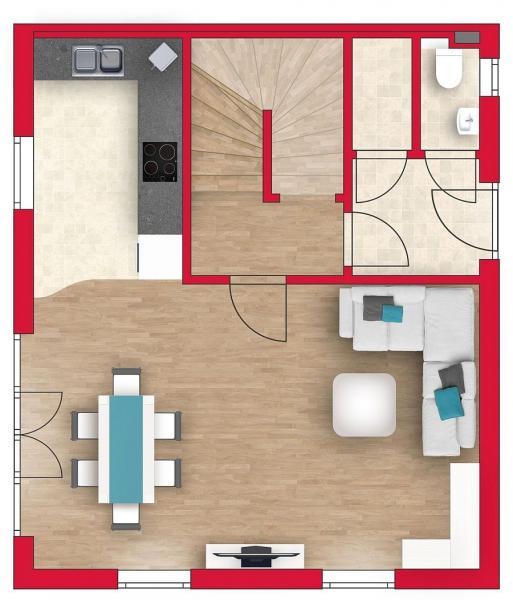 Großzügiges Einzelhaus, vollunterkellert mit 3 Stockwerken und Grundstück. Alleineigentum! /  / 2100Leobendorf / Bild 3