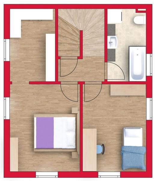 Großzügiges Einzelhaus, vollunterkellert mit 3 Stockwerken und Grundstück. Alleineigentum! /  / 2100Leobendorf / Bild 4