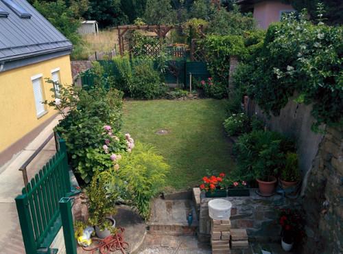 Komplett ausgestattete Maisonette mit Terrasse und Garten