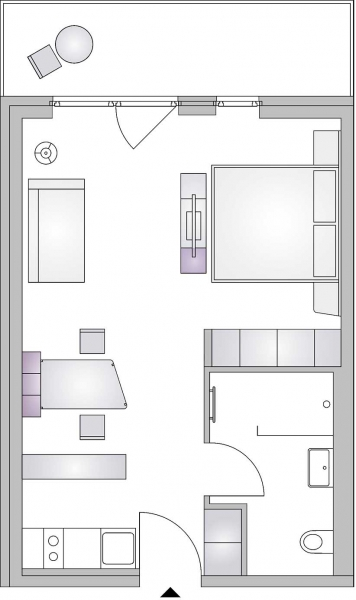 gbild -- room4rent Kurzzeit-Wohnen Large Plus /  / 1020Wien / Bild 2