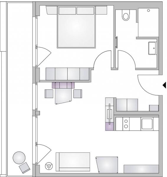 gbild -- room4rent Kurzzeit-Wohnen Suite /  / 1020Wien / Bild 2
