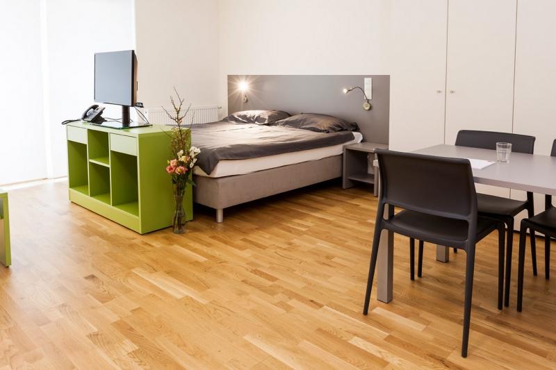 room4rent Kurzzeit-Wohnen im Leopoldtower Standard /  / 1210Wien / Bild 1