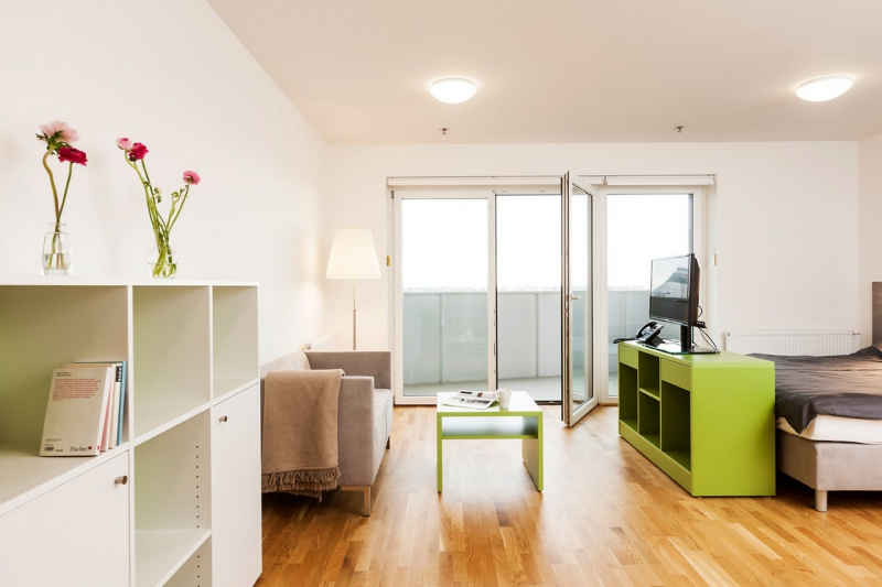 room4rent Kurzzeit-Wohnen im Leopoldtower Standard /  / 1210Wien / Bild 2