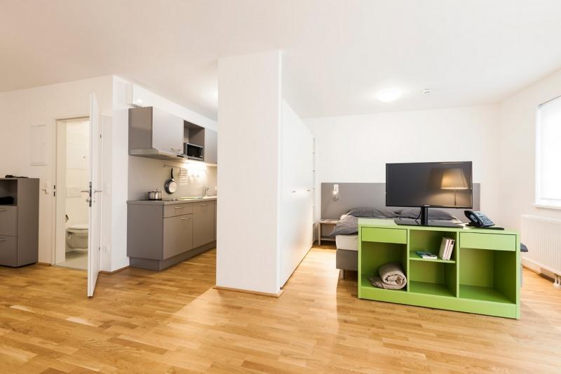 gbild -- room4rent Kurzzeit-Wohnen im Leopoldtower Large /  / 1210Wien / Bild 4