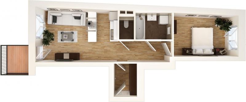 Provisionfrei Wohnung TOP 1