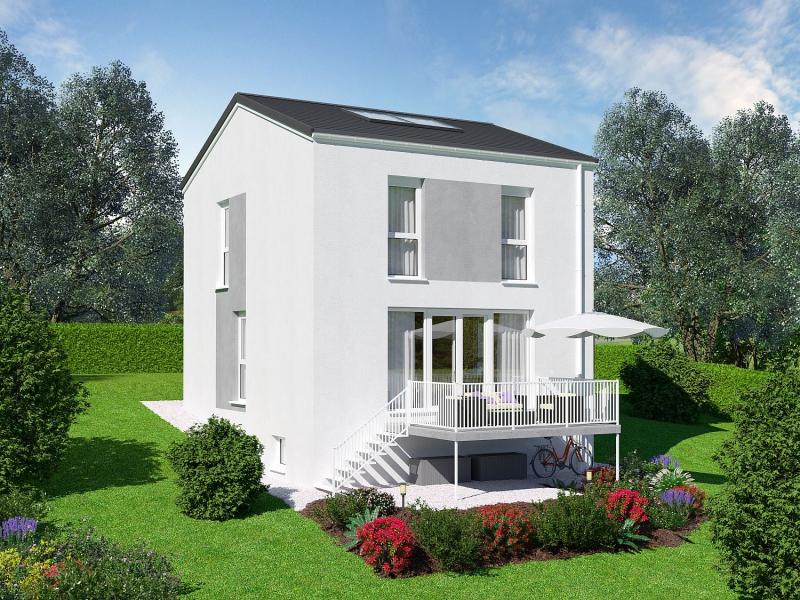 Niedrigenergie - Einfamilienhaus, vollunterkellert mit Eigengrund und 2 Parkplätzen.