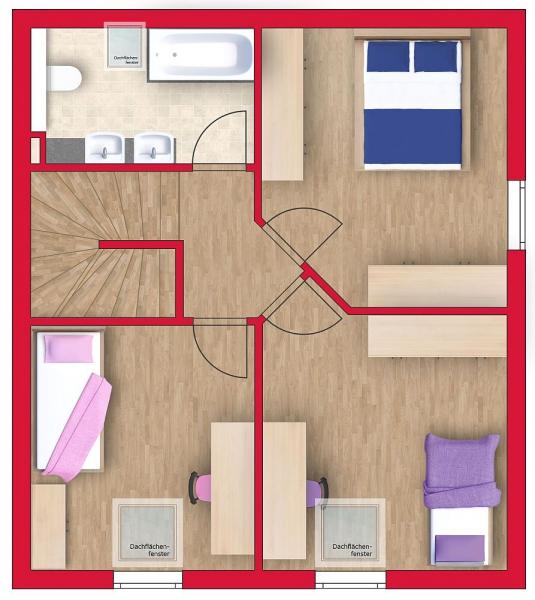 gbild -- Niedrigenergie-Doppelhaushälfte, mit Vollunterkellerung und Eigengrund. Provisionsfrei! /  / 2301Franzensdorf / Bild 4
