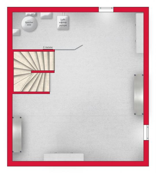 gbild -- Niedrigenergie-Doppelhaushälfte, mit Vollunterkellerung und Eigengrund. Provisionsfrei! /  / 2301Franzensdorf / Bild 5