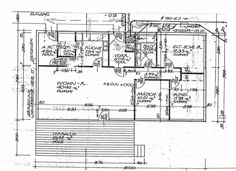 1140, Einfamilienhaus mit 4 Zimmern, Garten, Terrasse /  / 1140Wien / Bild 6