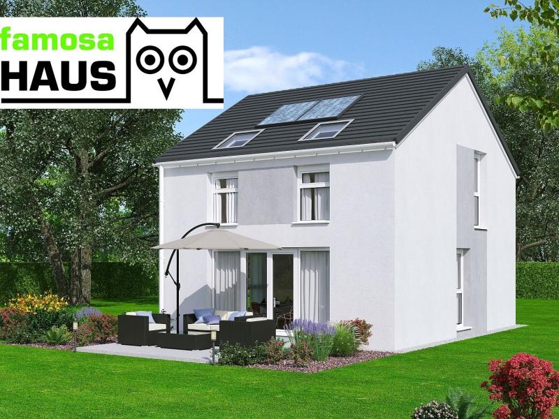 Ziegelmassives Einfamilienhaus mit Vollunterkellerung mit Gartenoase (Eigengrund). Alleineigentum!