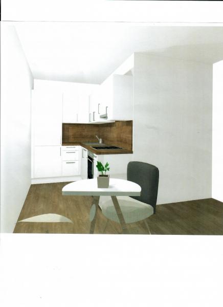 ERSTBEZUG! DEGENGASSE! unbefristete 38 m2 Neubau-Garconniere, Einzelwohnraum mit Kochnische, Duschbad, Parketten; /  / 1160Wien / Bild 4