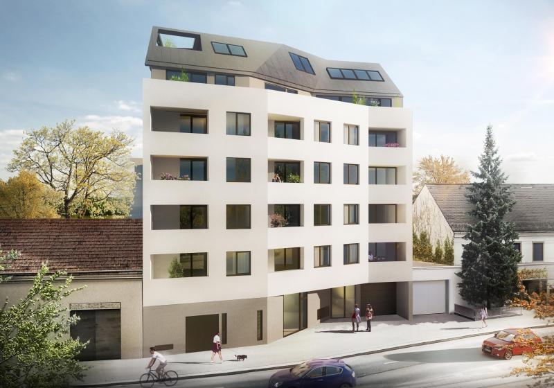 Dachgeschosswohnung mit großer Terrasse - Top 3.20