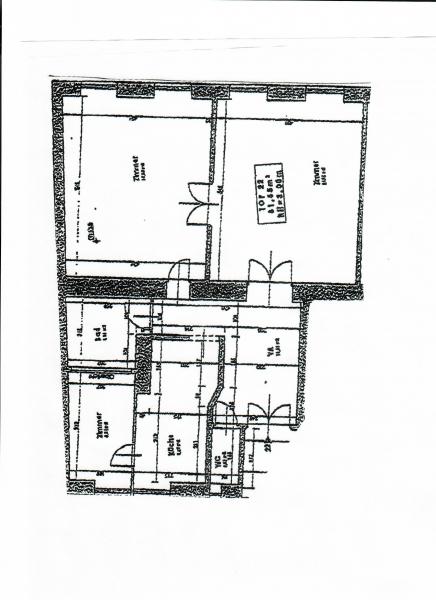AYRENHOFFGASSE - NUSSDORFER STRASSE, unbefristete 81 m2 Altbau,  2 Zimmer, Kabinett, Komplettküche, Wannenbad, Parketten,  /  / 1090Wien / Bild 8