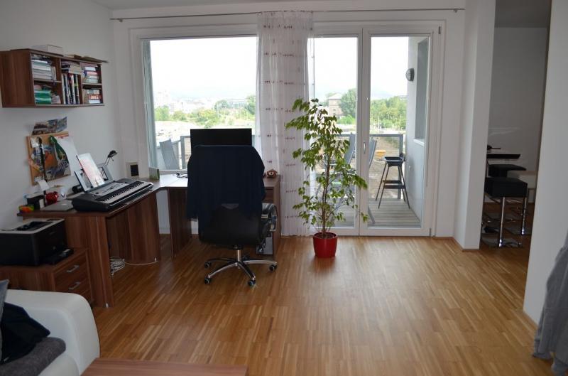 gbild -- LEYSTRASSE; sonnige 61 m2 Neubau mit 6 m2 Balkon, 2 Zimmer, Komplettküche; Wannenbad, Parketten; Garagenplatz /  / 1020Wien / Bild 1
