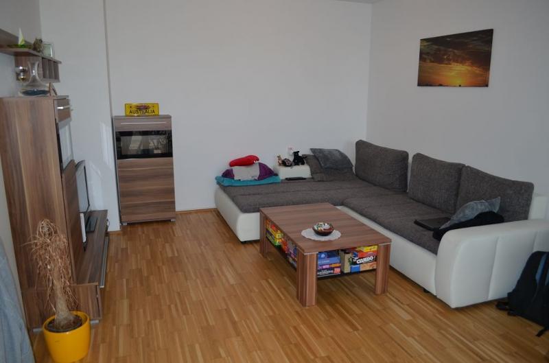gbild -- LEYSTRASSE; sonnige 61 m2 Neubau mit 6 m2 Balkon, 2 Zimmer, Komplettküche; Wannenbad, Parketten; Garagenplatz /  / 1020Wien / Bild 2