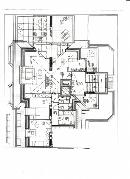 jpgcnt ---- BÖCKLINSTRASSE! PRATERCOTTAGE-DONAUKANAL-NÄHE, klimatisiertes 144 m2 Dachgeschoß mit 48 m2 Terrassen/Loggia, 3 Zimmer, Komplettküche, Wannenbad, Fernblick, unbefristet! /  / 1020Wien / Bild 9