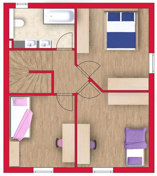 Ziegelmassives Einfamilienhaus mit Vollunterkellerung, Gartenoase (Eigengrund) und Parkplatz. Provisionsfrei.  /  / 2100Korneuburg / Bild 4