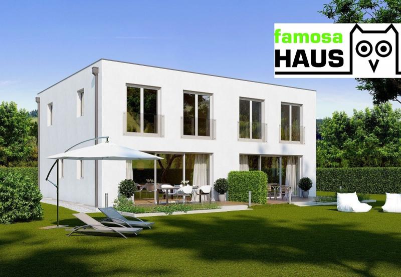 Sonnige Doppelhaushälfte mit Vollunterkellerung und Grundstück samt Parkplatz. Provisionsfrei.