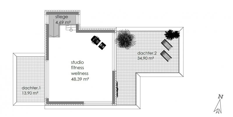 Architektenhaus in Grünruhelage mit Fernsicht - PROVISIONSFREI /  / 3001Mauerbach / Bild 3