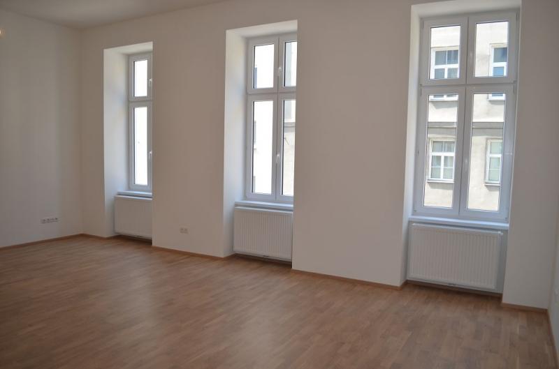 gbild -- ERSTBEZUG! REMBRANDTSTRASSE! Donaukanal-Nähe, 130 m2 Altbau, 3 Zimmer, 3er-WG-geeignet, Wohnküche, 2 Bäder, Parketten, Ruhelage /  / 1020Wien / Bild 2