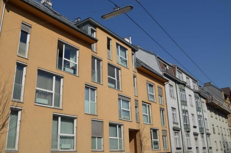 GRINZINGER STRASSE, DACHGESCHOSS! SONNIGE 45 m2 NEUBAUWOHNUNG, 2 Zimmer, Kochnische, Wannenbad; Parketten; /  / 1190Wien / Bild 0