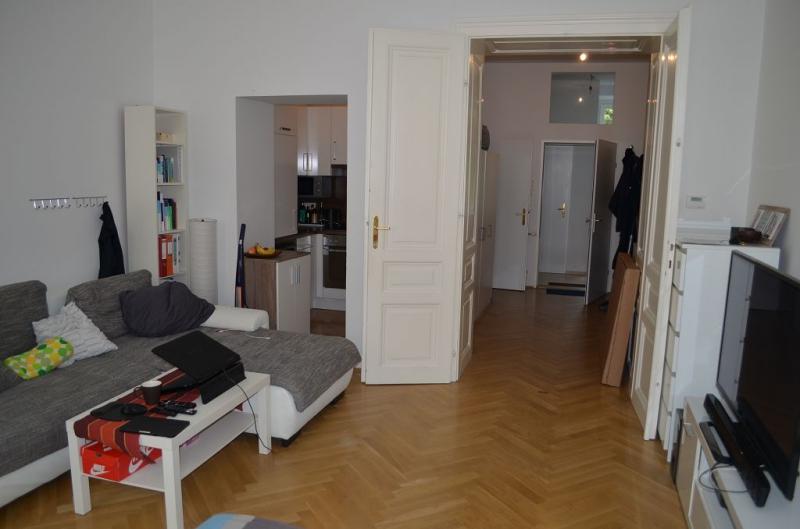 THERESIENGASSE, AKH-Nähe,  unbefristete 44 m2 Altbau-Garconniere,  Einzelwohnraum,  Komplettküche, Duschbad, Parketten /  / 1180Wien / Bild 2